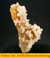 6170 Fluorit fluorite gelb/orange Calcit Villabona Asturias Spanien 1984 MOVIE
