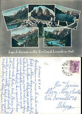 AURONZO DI CADORE,TRE CIME DI LAVAREDO,VEDUTINE-F.G. -VENETO(BL) N.42037