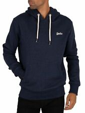 Superdry Men's Classic Pullover Hoodie, Blue