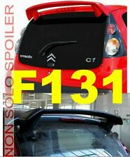 SPOILER ALETTONE PEUGEOT 107  GREZZO CON COLLANTE BETALINK  F131GK-TR131-4