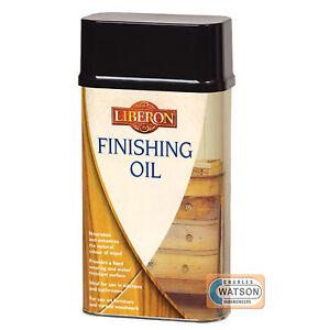 LIBERON FINISHING OIL Traditional Wood Treatment 1 Litre 1 L 250ml 500ml 1L
