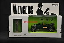 CORGI 00101 THE AVENGERS VINTAGE GREEN BENTLEY MODEL CAR + JOHN STEED FIGURE