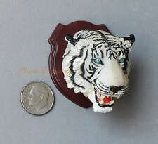 Cake Topper Takara Hunting Trophy White Tiger Africa Safari Nature RARE YH_3.Sp2