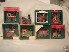 Hallmark Tin Locomotive all 8 1982-1989 Book Value 1K!