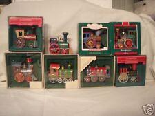 Hallmark Tin Locomotive all 8 1982-1989 Book Value 1K!