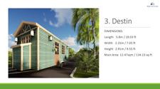 "Tiny House              L19'.6"" X W7'2"" or L26' X W7'.2"" Professionally built"