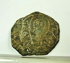 New listing Manuel I Comnenus 1143-1180 Ad Byzantine Coin Rev: St. George Ae Half Tetarteron