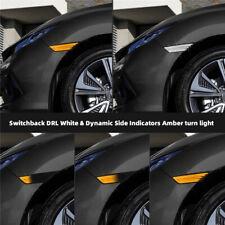 Honda Civic 10th 2016+DRL Dynamic Smoke LED Bumper Turn Signal Side Marker Light