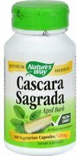 Cascara Sagrada, Nature's Way, 100 vcaps