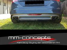 CUP Diffusor Ansatz für Audi TT S-Line TTS 8J Heck Stoßstange Heckschürze Rear