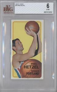 1970-71 Topps Fred Hetzel #79 BVG 6 Rookie