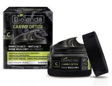 Bielenda Carbo Detox Moisturizing Mattifying Face Cream Hyaluronic Acid 50ml