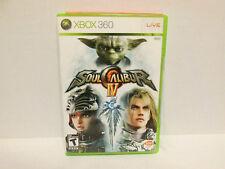 Soul Calibur IV 4 Xbox 360 Original Case & Artwork & Manual NO GAME