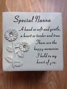 Special Nanna Graveside Memorial Flower Pot Verse Grave Vase Loved Garden