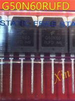5PCS G50N60RUFD TO-3PL 50A 600V IGBT Transistor Module
