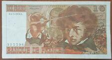 Billet 10 francs Hector BERLIOZ 4 - 3 - 1976 FRANCE V.287
