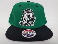 Oregon Ducks Zephyr Cap Flat Brim Snapback Z11 Static Hat NCAA