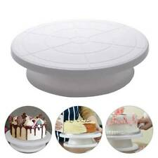 28cm Rotating Cake Icing Deocrating Revolving Kitchen Stand Turntable Tool Shns