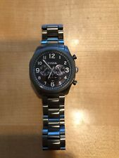 Fossil watch—men's with black face