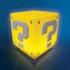 Nintendo Super Mario FRATELLI Mini Punto di domanda BLOCCHETTO LUCE