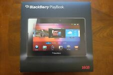 RIM Blackberry Playbook 16gb Wi-Fi Tablet OEM Protector Case Rapid Charger