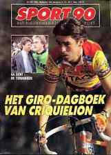 CLAUDY CRIQUIELION claude MX DAVE STRIJBOS MOTOCROSS Sport 90 magazine