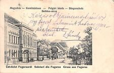 B76805 Romania Fagaras Strada Bethlen 1910 Fogaras brasov Fogarasch