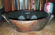 Antique Oceania South Pacific ???Ceremonial Burl Treen Bowl