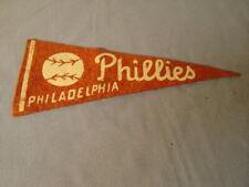 Vintage Philadelphia Phillies Mini Pennant