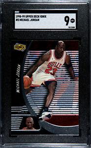 1998 Upper Deck Ionix Michael Jordan #5 SGC 9 MINT