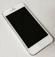 ESN Bad - Apple Iphone 5 T-Mobile IOS Smartphone 64GB White A1428 - IMEI Bad