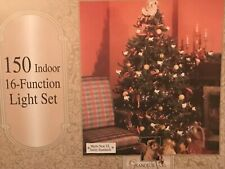 60-743 Grandeur Noel 150 16-Function Multi-Colored Light Set of NEW Christmas
