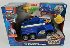 Paw Patrol Ultimate Police Cruiser Lights Sound Chase Ultimate Rescue