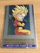 Carte Dragon Ball Z DBZ Hero Collection Part 3 #PC-25 Platina 1995 MADE IN JAPAN