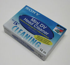 1 Sony HD1000 cam Mini DV video head cleaner tape for HDR FX1 FX1000 V1U Z1U Z7U