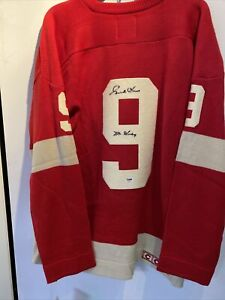 Gordie Howe Detroit Red Wings Signed Jersey CCM Team Classics Sweater PSA COA