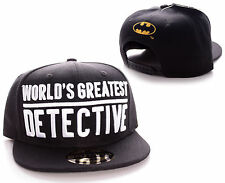 Batman Worlds Greatest Detective Gotham City Cap Baseball Kappe Mütze Snapback