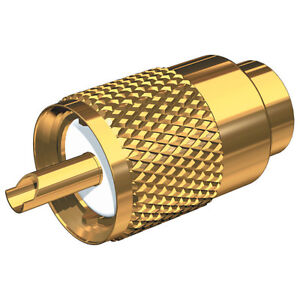 Shakespeare PL259 Gold Plated Connector F/RG8U/RG213