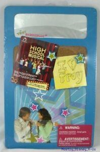 New Disney Channel High School Musical HSM school Locker Organizer Mirror Board