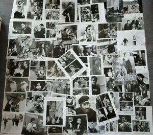LOT OF OVER 50 ORIGINAL PRESS PHOTOS 70's, 80's & 90's