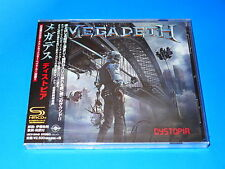 2016 JAPAN MEGADETH DYSTOPIA SHM CD / BONUS TRACK FOR JAPAN ONLY