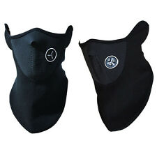 Black Dustproof &Winter Protection Half Face Mask for Bicycle Motorcycle Drivers