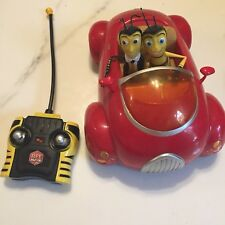BEE MOVIE remote-control RED CONVERTIBLE car toy 2007 vehicle Radio Shack RC