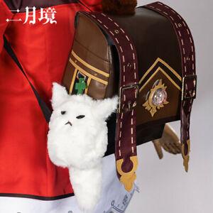 Genshin Impact Klee Spark Knight Harajuku Backpack Shoulder Bags Cosplay +Track