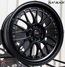 XXR 521 18X8.5 Rims 5x100/114.3 +35 Black Wheels (Set of 4)