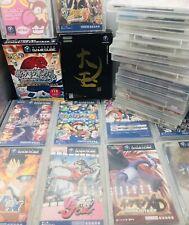 Lot Nintendo Gamecube Pokémon XD / Naruto / Shaman / Mario Japan Ver US Seller