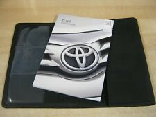 TOYOTA C-HR CHR USER GUIDE HANDBOOK 2016-2018 COVERS TOUCH SCREEN