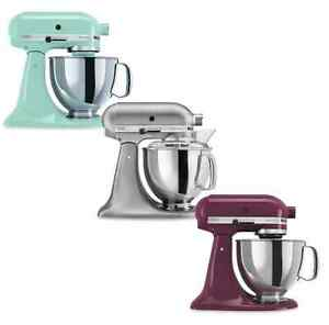 Kitchenaid 5 qt Stand Stainless Electric Meat Grinder, Dough Pasta Mixer, Baker