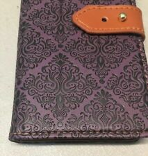Galaxy S8 Wallet Case Auker Shockproof Vintage Flip Leather Folio Purple READ