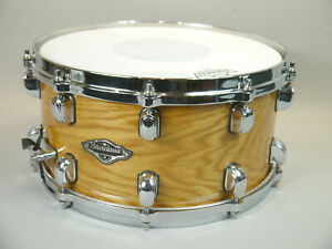 "Tama Starclassic Birch / Bubinga 14"" X 6.5"" Snare Drum Natural Finish"